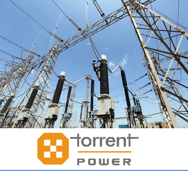 Torrent electricity in Dholera SIR.
