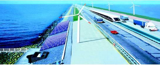 The world's longest dam will be built in the Gulf of Khambhat (December 2020)