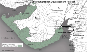 World's longest Kalpasar project will built at Gulf of Khambhat (December 2020)