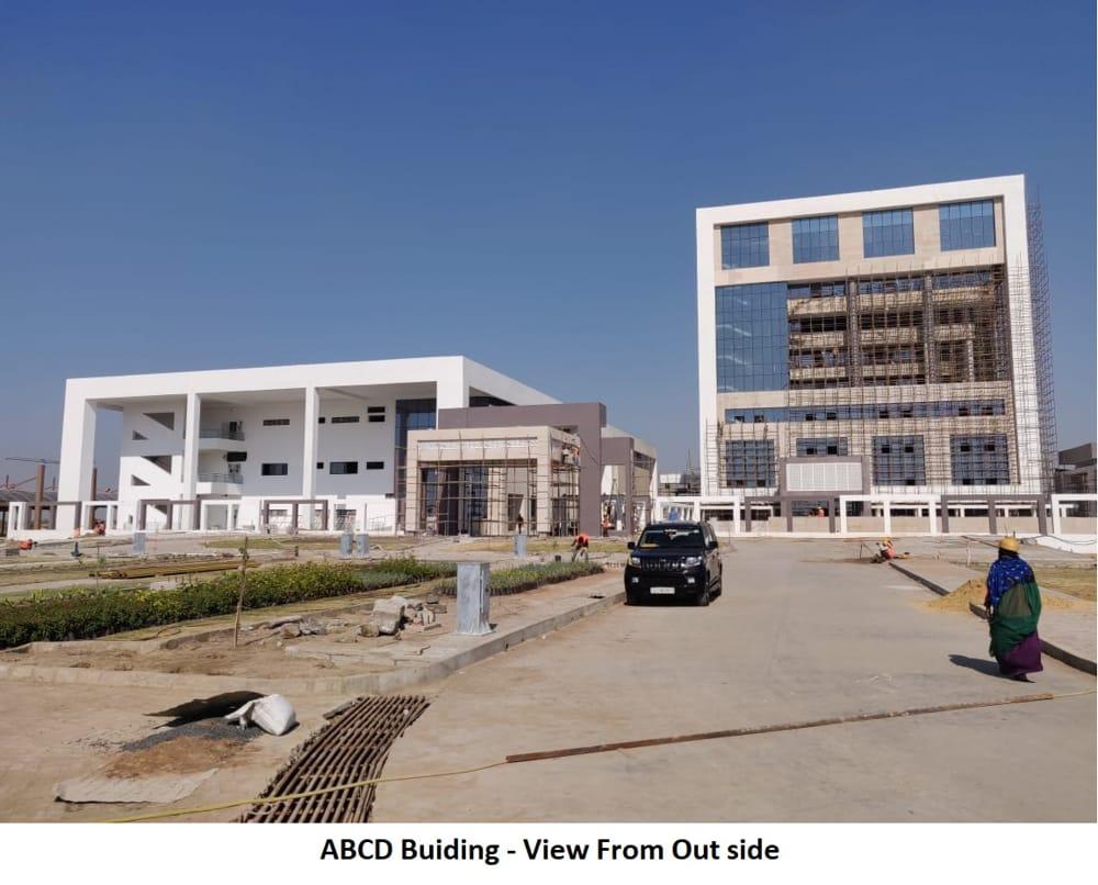 abcd building at dholera smart city