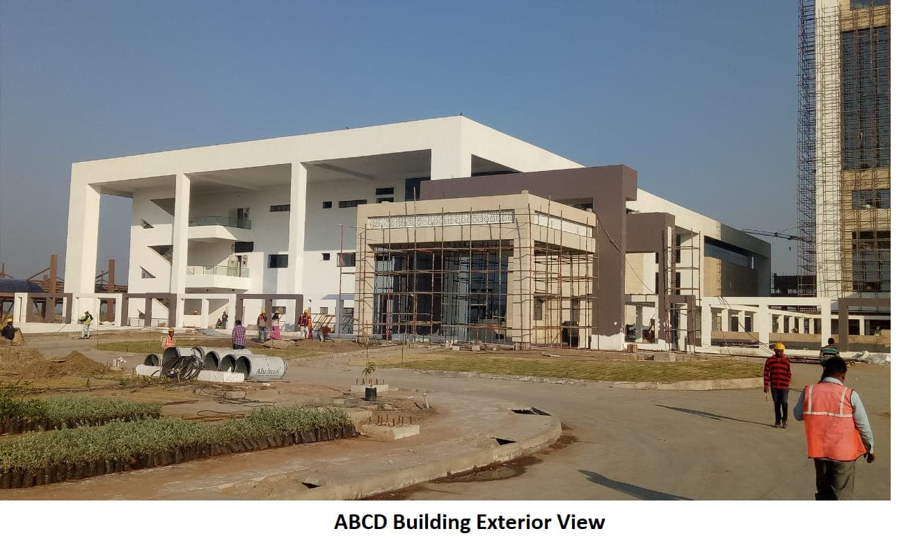 abcd building exterior view