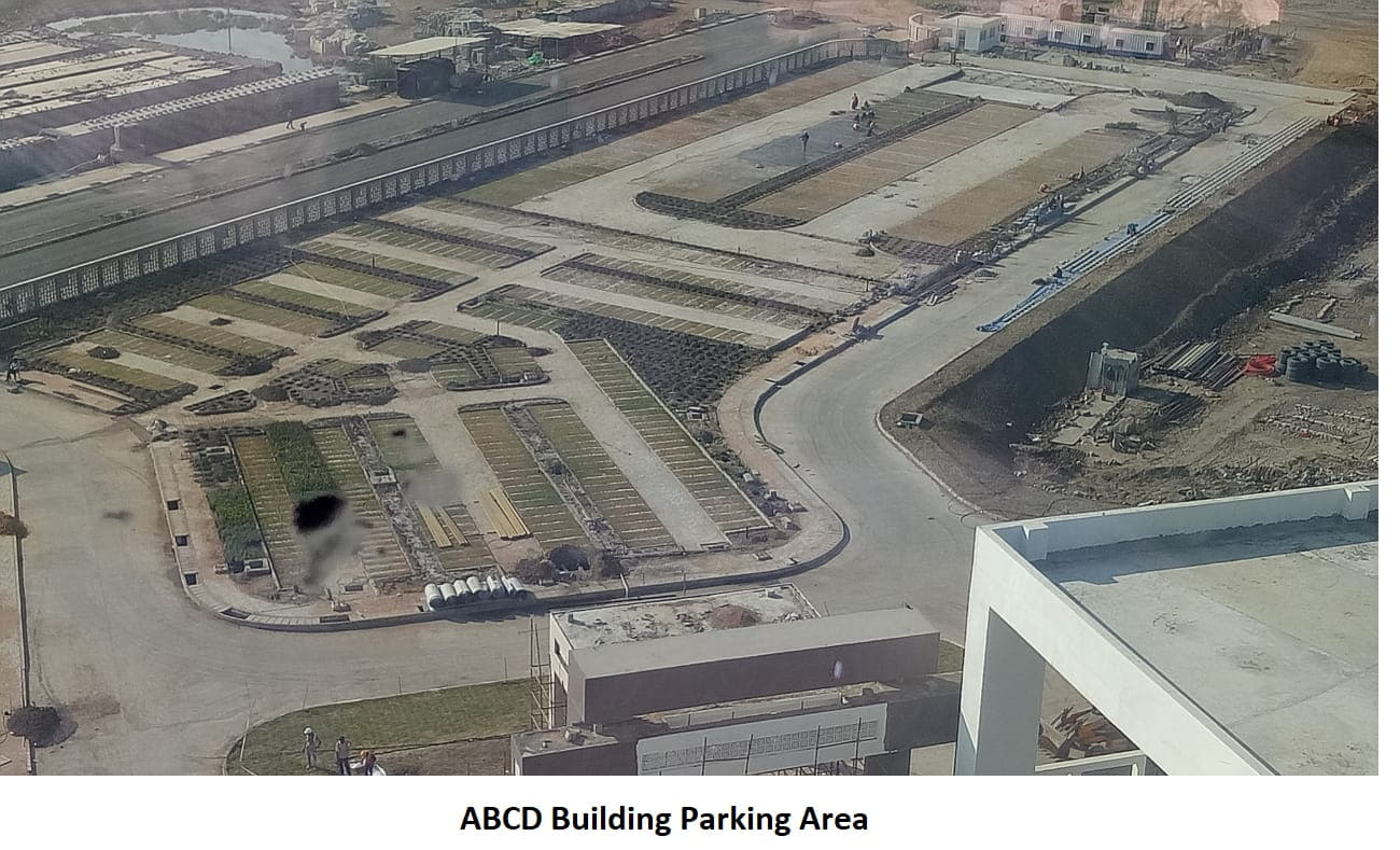 abcd building parking area
